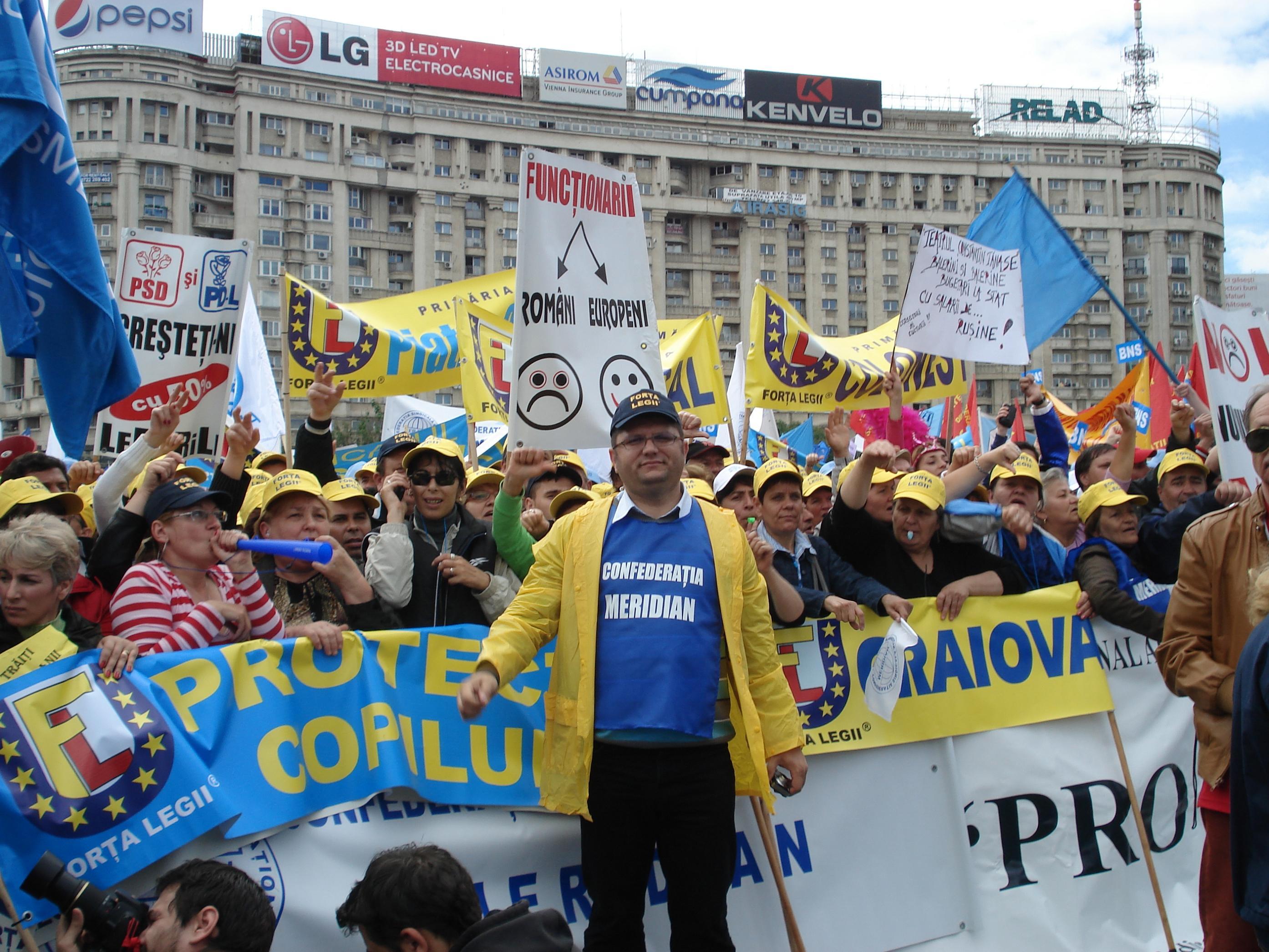FORTA LEGII miting protest